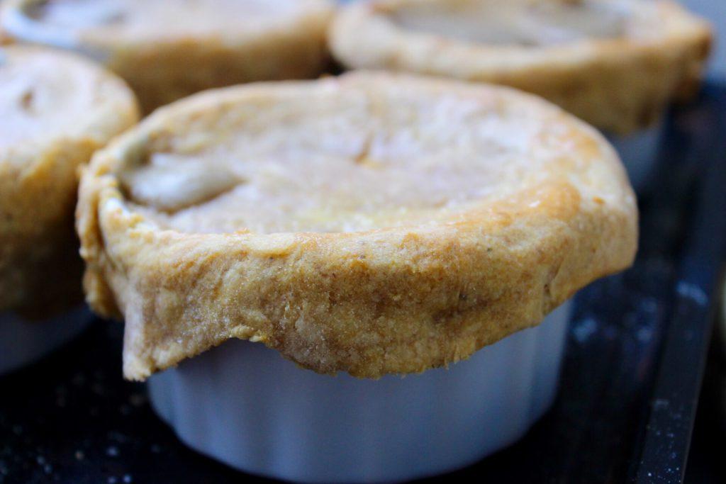 sweet potato crust pot pie