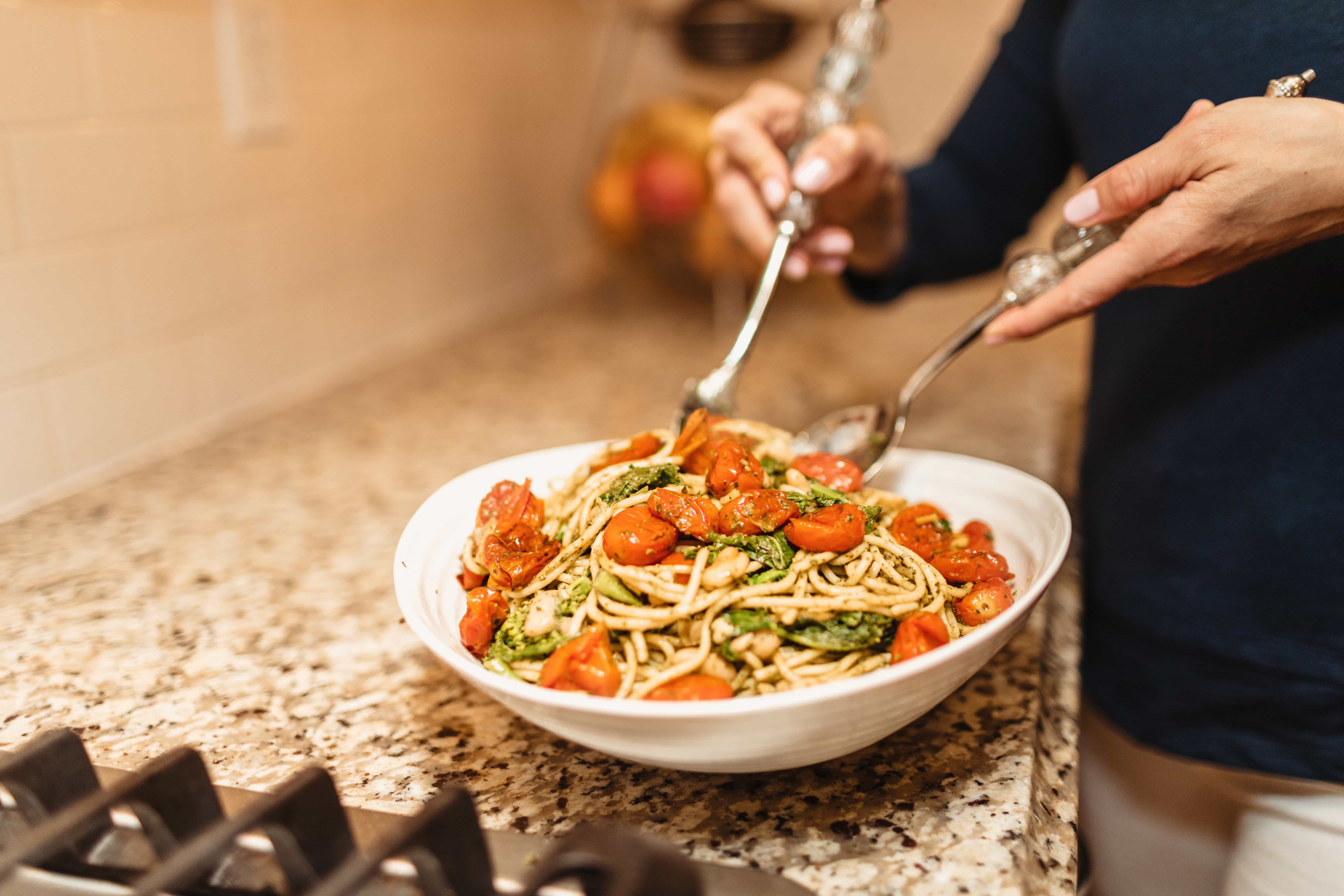 healthy vegan pasta recipes