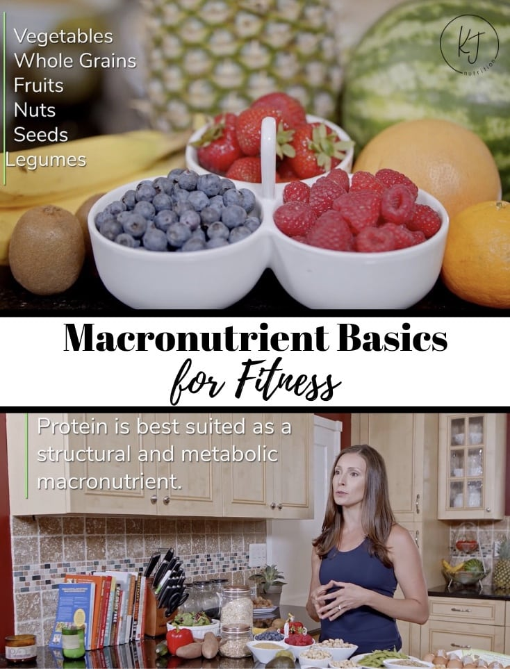 What are macronutrients? Learn about macronutrients for fitness.