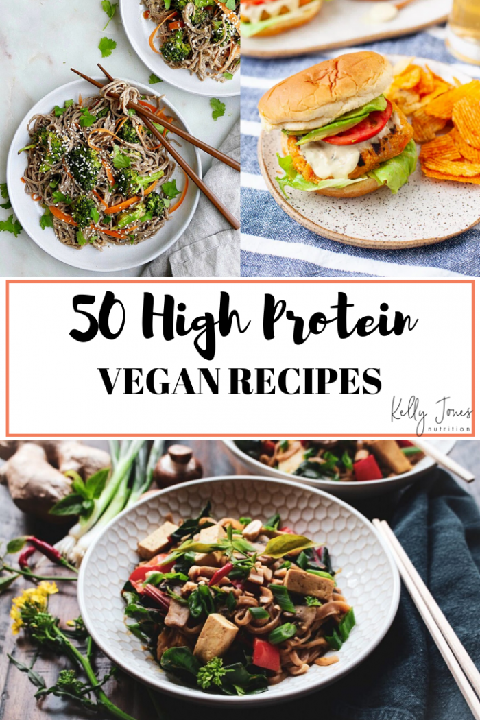 Plant Based Recipes Rich In Protein Kelly Jones Nutrition