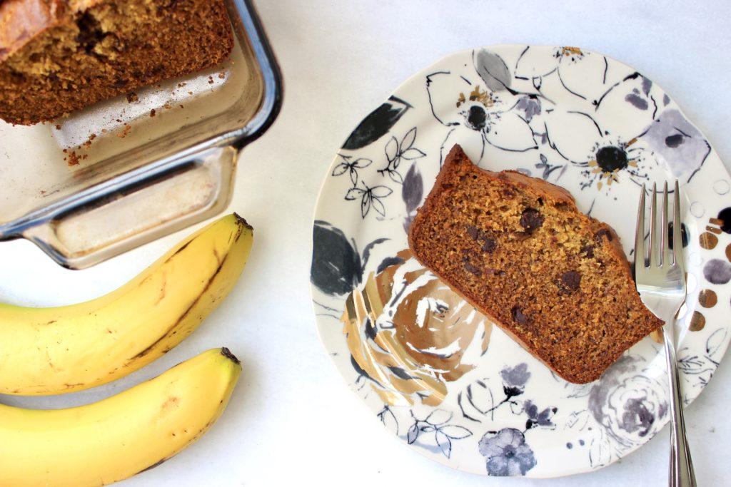 healthiest dairy free banana bread